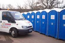 Portable toilet hire for events in Scotland