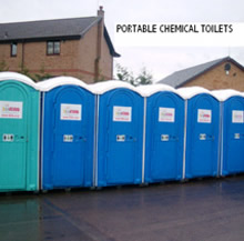 Portable chemical toilets & loos for hire Scotland Glasgow Edinburgh Aberdeen Inverness